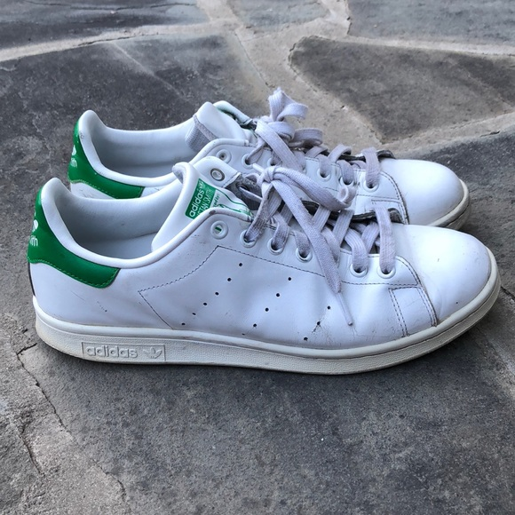 reputable site d1758 4840d Adidas Stan Smith White Green Men's Size 10.5